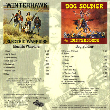 Winterhawk Double CD