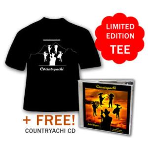 Countryachi Tee Shirt Plus Free Audio CD!!